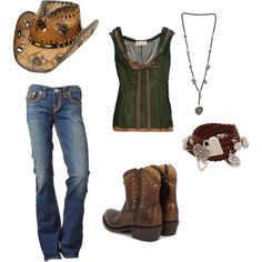 LOVE this hot look for the modern country girl who wants a really chic style.  Awesome look to rock for senior portraits!