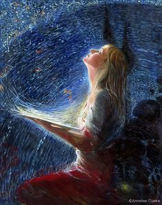 Oh Beloved! Paint me in the colors of Love. All of them. While I watch You Turn my canvas of hurt into hope. Artwork: Художник Annelies Clarke ஜ۩ Love ۩ஜ MODaline Productions