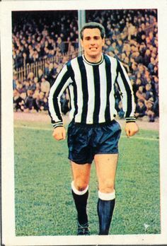 Bobby Moncur - Newcastle United - as a player.
