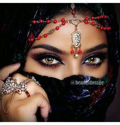 ღஐღ Вeauty dosage of the Eastღஐღ Arabian Eyes, Arabian Beauty, Lovely Eyes, Pretty Eyes, Bollywood Makeup, Arabic Makeup, Indian Makeup, Bridal Makeup Looks, Wedding Makeup