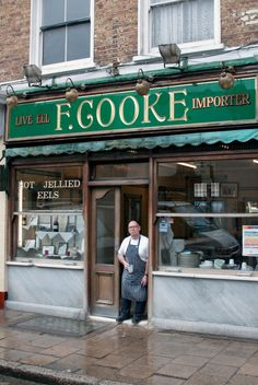 F. Cooke Pie and Mash shop Brick Lane