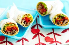 Eliminate leftovers: bring all the ingredients to the table and let the kids help make their own Mexican style burritos. Dinner will be gone in a flash!