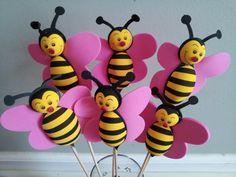 bumble bee decor | foam Bumble Bee centerpieces party decorations Foam Sheet Crafts, Foam Crafts, Tea Party Theme, Bee Party, Bumble Bee Decorations, Baby Shower Decorations, Fair Theme, Bumble Bee Birthday, Bridal Shower Tea
