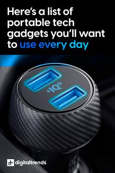Electronics are getting smaller and smaller, and we all seem to have our own special must-have gadgets that we never leave home without. These are our top picks! Must Have Gadgets, Cool Tech Gadgets, Tesla Coil, Bluetooth Keyboard, Digital Trends, Game Controller, Charger, Electronics, Top