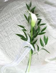Image Result For Single Bridal Calla Lily Bouquet Simple Wedding Bouquets Simple Bridal Bouquets Single Flower Bouquet