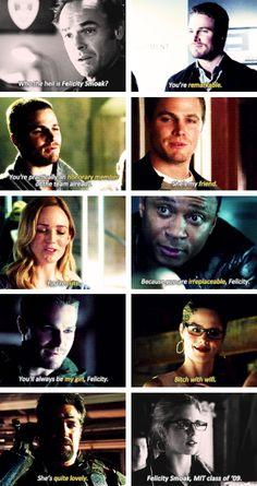 #Arrow #FelicitySmoak