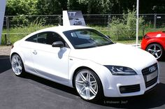 White Audi TT! I love the white!