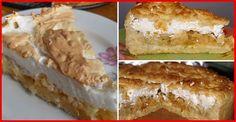 Prăjitură cu mere și bezea moale. Cel mai gustos și gingaș desert de toamnă! - Bucatarul