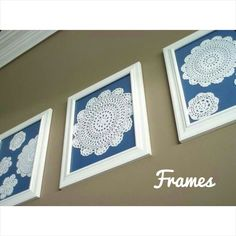 Frames... #bymeecreations #bymee #frames #doilies #homedeco #interiordesign #architect #wall #decoration #ideas #new #designs #creative #house #home #lebanesedesigners #crochet #crochetting #diy #ideaoftheday #bestoftheday #beirut #lebanon