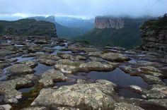 Parque Nacional da Chapada Diamantina, um dos melhores lugares para se conhecer no Brasil. Fica no interior do estado da Bahia.  Fotografia: bahia.com.br