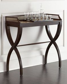 H85TG Hooker Furniture Calexio Consulate Side Table