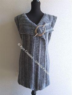 PATR1083 - Vest / gilet - op verschillende manieren te dragen