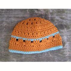 9 Free Crochet Beanie Hat Patterns: Sweet Potato Crochet Baby Beanie Free Pattern