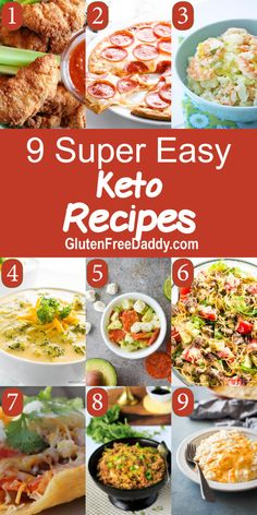 I love the huge variety of all these super easy Keto recipes. Most only have a few ingredients and only take a few minutes to make.