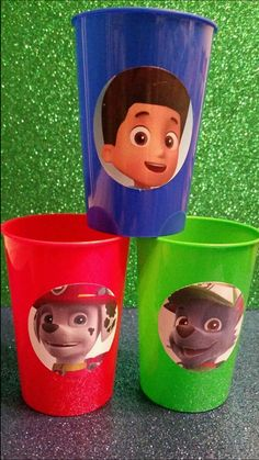 Wow your kids with these awesome plastic cups. They are small in size but very unique and cool for this party theme. Please note that image on