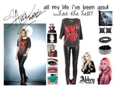 """Avril Lavigne"" by livelifeloud24 on Polyvore"