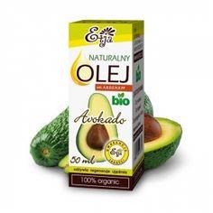Olej Avokado, Avocado BIO 50 ml tłoczony na zimno ETJA