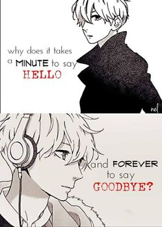 Why? Manga:Hirukana no ryuusei Cause it's hard to let go of someone you thought actually liked you when nobody else even noticed you