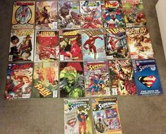 Flash, Superman, Various DC/Marvel Comics - Lot of 20 - Modern Age NM #1 Issues!