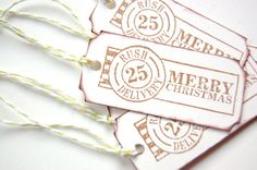 Merry Christmas gift tags kids gift tags set by ShopReminiscence, $4.50