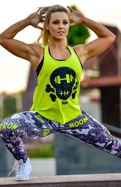 @strongliftwear Femme Fatale T-back - Hyper  www.strongliftwear.com