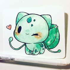 pokemon commission info in bio this one's for christa! c: #bulbasaur #pokemon