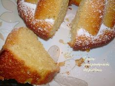 Lemon Recipes, Cake Recipes, Greek Sweets, French Toast, Deserts, Food And Drink, Cupcakes, Cooking, Breakfast