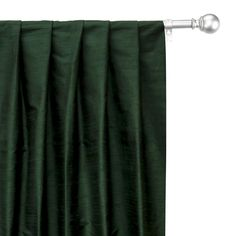 Silk Curtains, Custom Curtains, Lined Curtains, Curtain Fabric, Curtain Panels, Green Silk, Green Fabric, Window Sizes, Box Pleats