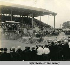 Automobile race - Delaware State Fair 1919