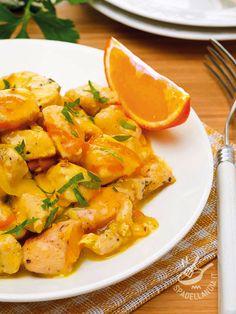 I Bocconcini di pollo all'arancia sono un piatto davvero invitante, velocissimo e piacciono tanto a tutti, soprattutto ai bambini.