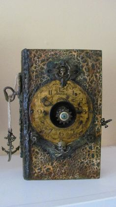 Altered Book Box (The Pirate) my friend Wendy Whalen did on an art retreat in Portugal.