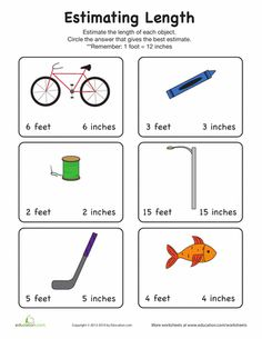 estimating length learning is fun pinterest math 2nd grade math and measurement activities. Black Bedroom Furniture Sets. Home Design Ideas