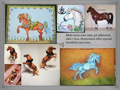 Design med allt från hästar till dödskallar. All världens hundraser och mycket mer.