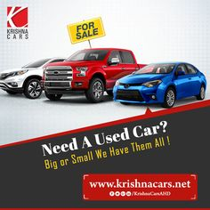 Need A Used Car? Big or Small we Have Them All !  #UsedCar #UsedcarDealers #SecondHandCar #SecondHandCarDealers #BestUsedCarDealerinAhmedabad  W:https://krishnacar.nowfloats.com/   M:9825030605