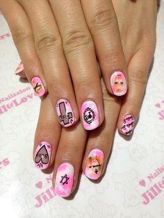 barbie nails