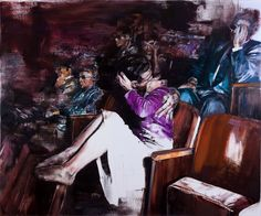 Dan Voinea is an artist hailing out of Bucharest, Romania. Voinea creates stunning oil on linen figurative paintings that borders the abstract and surreal, filled with a subjects missing limbs (or having extra ones) freely floating as they may.   #Art #Paintings  