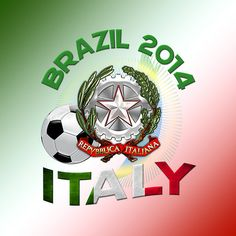 Brazil 2014 World Cup: Team Italy by Captain7