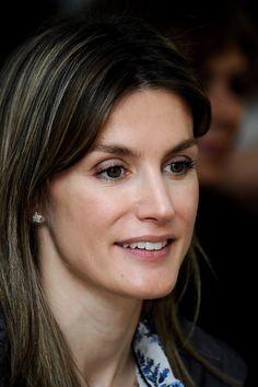 Queen Letizia of Spain Photos: Spanish Princess Letizia Visits 'Joaquin Blume School' in Madrid