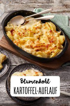 Cauliflower and potato bake - -You can find Auflauf vegetarisch and more on our website.Cauliflower and potato bake - - Healthy Chicken Recipes, Paleo Recipes, Baking Recipes, Soup Recipes, Cauliflower Potatoes, Baked Cauliflower, Paleo Meal Plan, Casserole Recipes, Potato Casserole