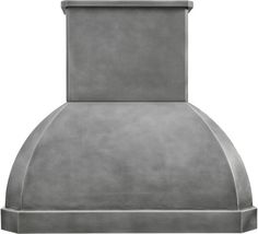 """Custom Made Zinc Hood """"Athens"""" Zinc cooktop hood with smooth and hammered surface. #mycustommade"""
