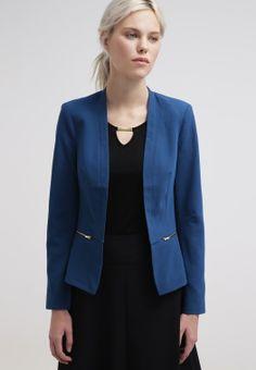 New Look Scarlette Blazer Petrol Blue CentralMODA.COM
