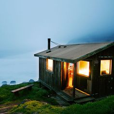 Steep Ravine Cabins, Mt. Tamalpais State Park, Mill Valley, CA Why it's cozy:Location, location, location. The cabins are bare bones, sans water or electricity, but they're perched on the edge of the world, overlooking the Pacific, just a stone's throw from postcard-ready Stinson Beach.What's out the door:Whales, waves, sunsets—the Pacific Coast dream. Hiking through the 6,300 acres of surrounding redwood groves.