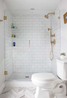 8 Easy And Cheap Cool Ideas: Simple Bathroom Remodel Faucets master bathroom remodel paint.Bathroom Remodel Ideas Travertine hall bathroom remodel before and after.Narrow Bathroom Remodel On A Budget. Bathroom Inspo, Bathroom Inspiration, Gold Bathroom, Brass Bathroom Fixtures, Bathroom Mirrors, Bathroom Layout, Kohler Bathroom, Bathroom Shelves, Bathroom Cabinets