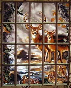 Attic Window with narrow panes