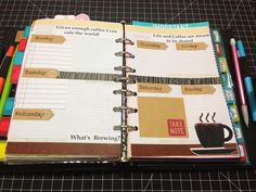 Craft Room Secrets: Filofax design page week 10/06