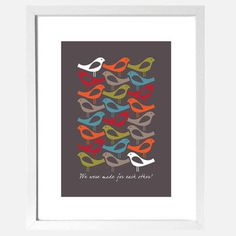 Made For Each Other Print, 30€, now featured on Fab.