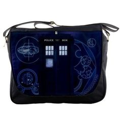 """I found 'Tardis Doctor Who Messenger Bag Police Public Call Box Tv Episode Series Size 14""""' on Wish, check it out!"""