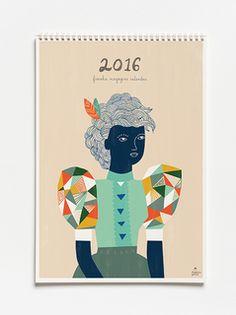 9,60 € #frankie #calendar #2016 https://www.goodshaus.com/FRANKIE-Wandkalender-2016
