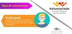 Tipos de Voluntariado #Voluntariado #CaracoldePlata