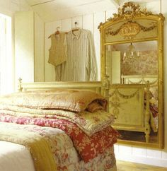 I just love decorating--all styles-- but for myself and my own home I lean towards the french...